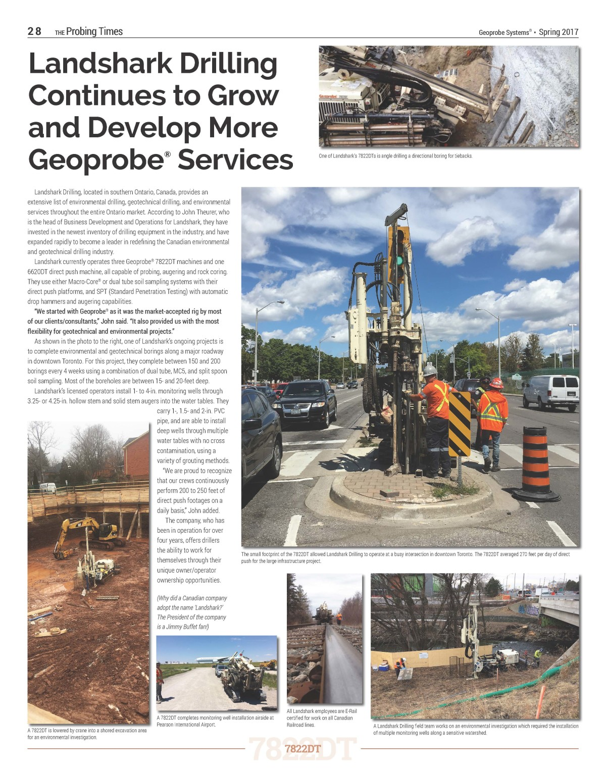 Geoprobe Systems Article